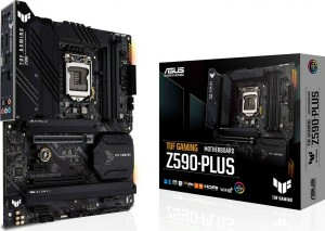 Asus TUF GAMING Z590-PLUS Motherboard ATX με Intel 1200 Socket(90MB16B0-M0EAY0)